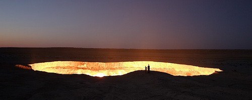 The Door to Hell, Turkmenistan, GC23HNZ