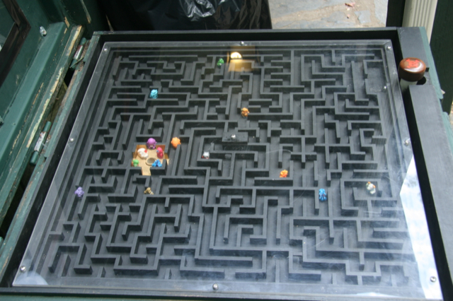 A-maze-ing, amirite? Photo courtesy of Woodnutt