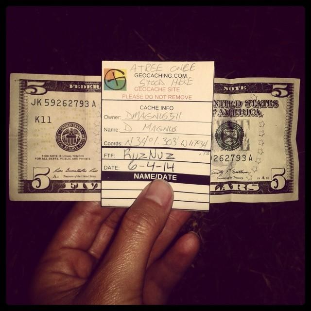 Cash prize! Image by Instagrammer @ruznuz