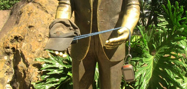 This statue of Frederico Engel can be found at  GC3FMPF