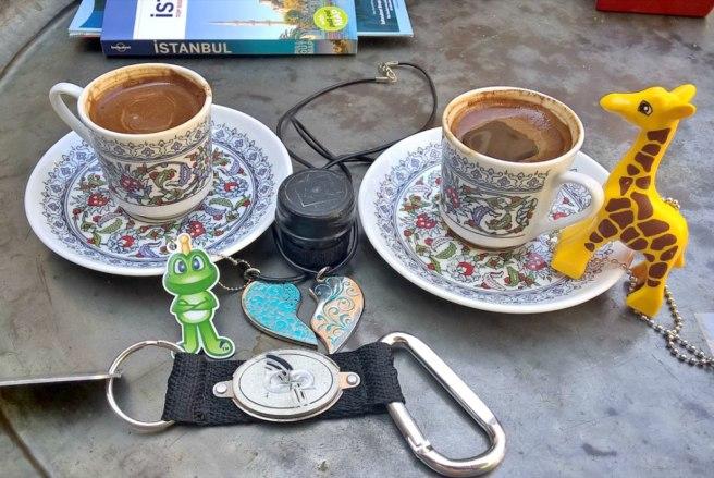 Cache coffee