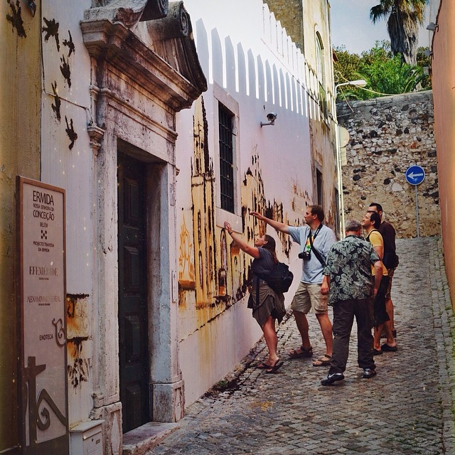 5-14-2014 #geocaching takes us to some of the most incredible places. GC3C2JW is located in Lisboa, Portugal - and what a beautiful stop along the way! What's the coolest thing you've discovered while #geocaching?
