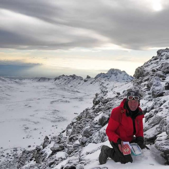 Has the geocache been found since snow has fallen?