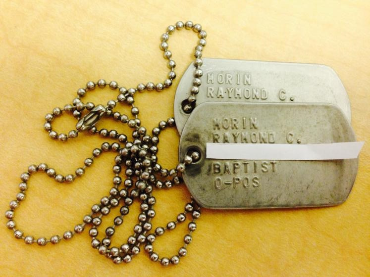 Raymond's lost dog tags
