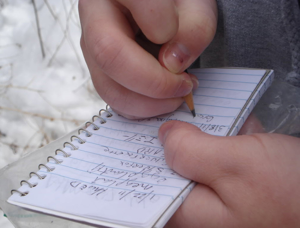 BYOPencil so you can sign that log!