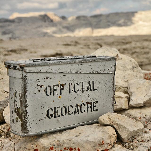 Camo'd Ammo. #geocaching #getlost #adventure