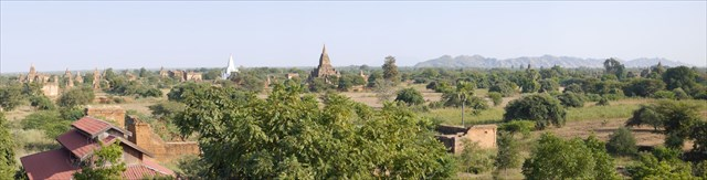 A view of Bagan. Photo by geocacher Dirkverschuren
