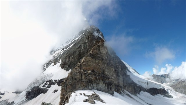 The Matterhorn from GZ. Photo by geocacher raumangst