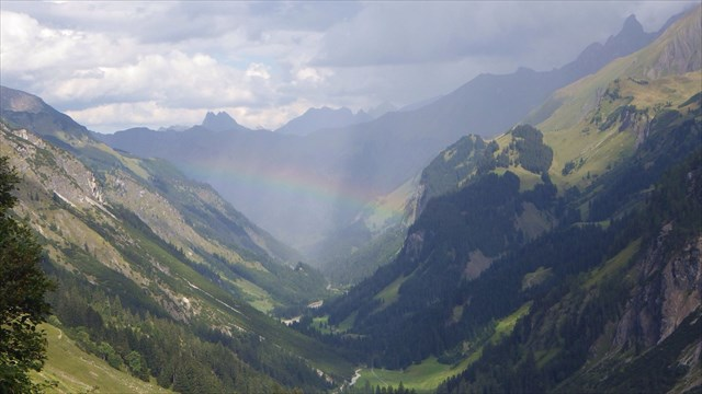 GC3JH5D Rainbows and lush valleys are a big payoff when your thighs are begging for mercy!