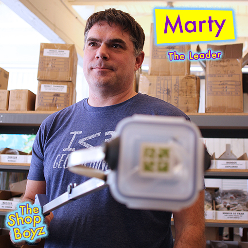 Marty is the E-Commerce Operations Manager and a Taurus