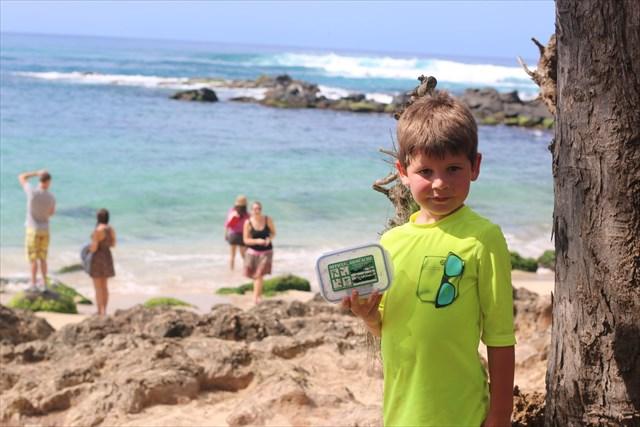 This is a great geocaching experience for kids of all ages