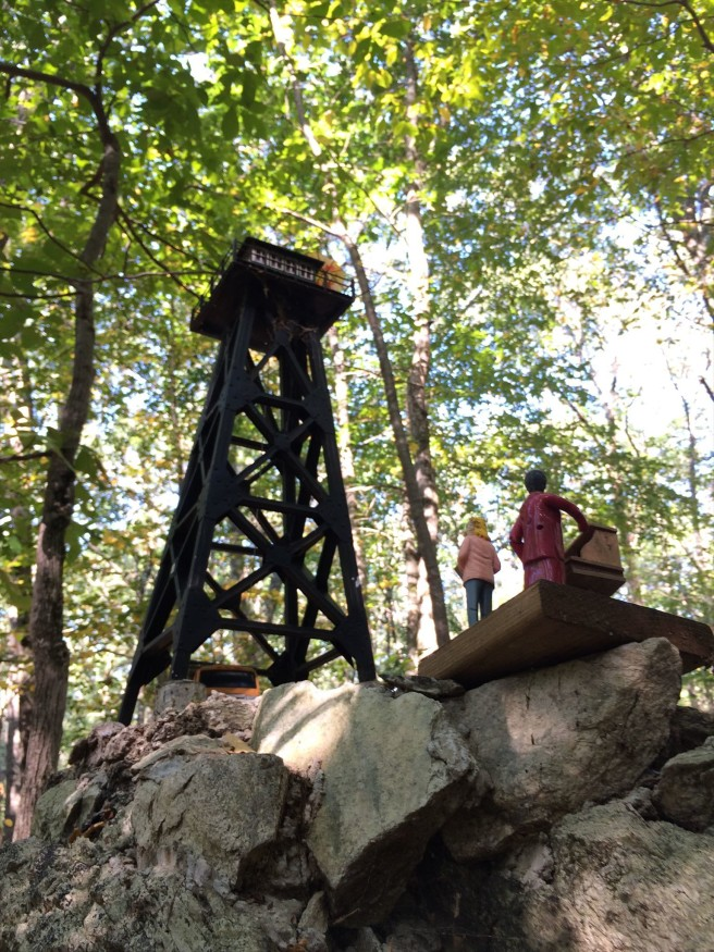 How big is this lookout tower really?