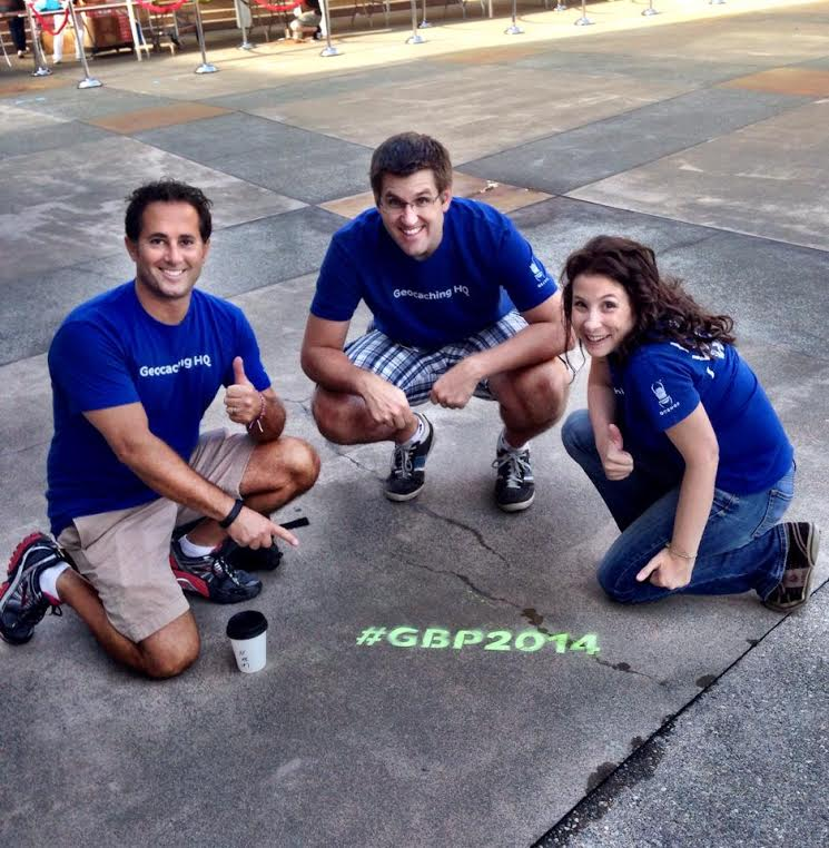 Bryan, Ben, and Jayme at Geocaching Block Party 2014