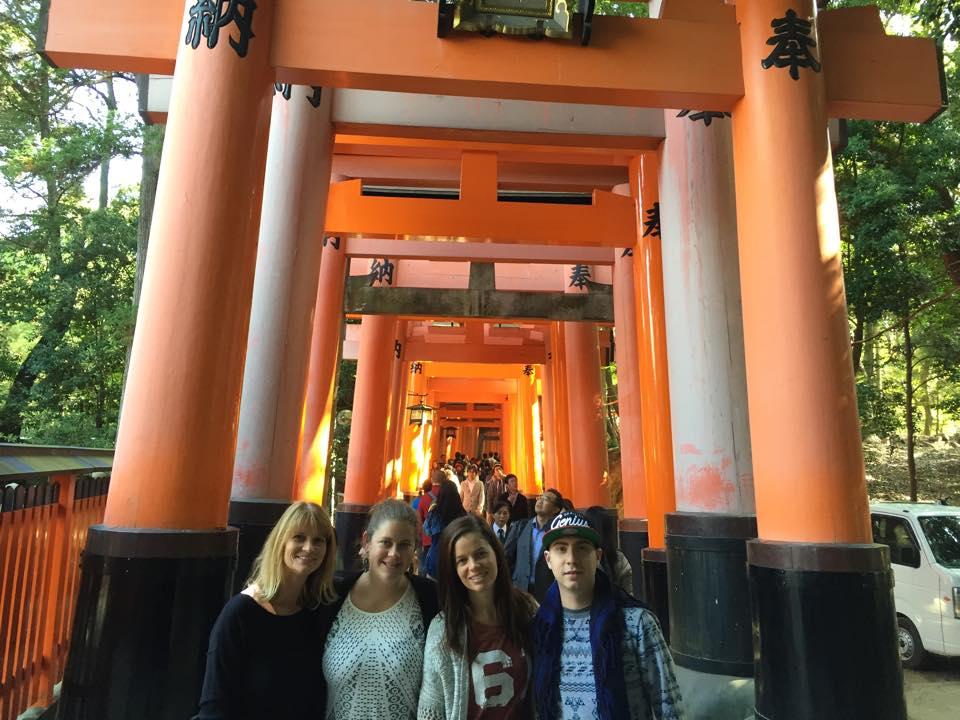 Erin Geocaching Kyoto