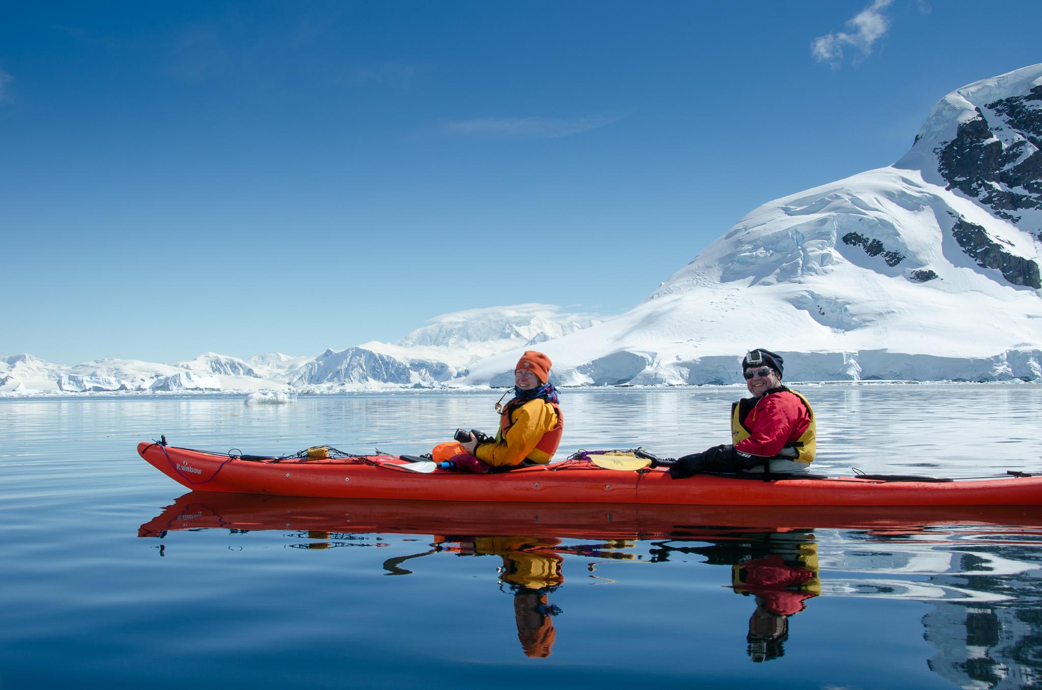 Kayaking Antarctica