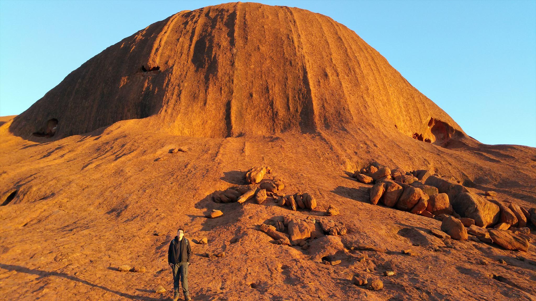 Mars or Uluru?