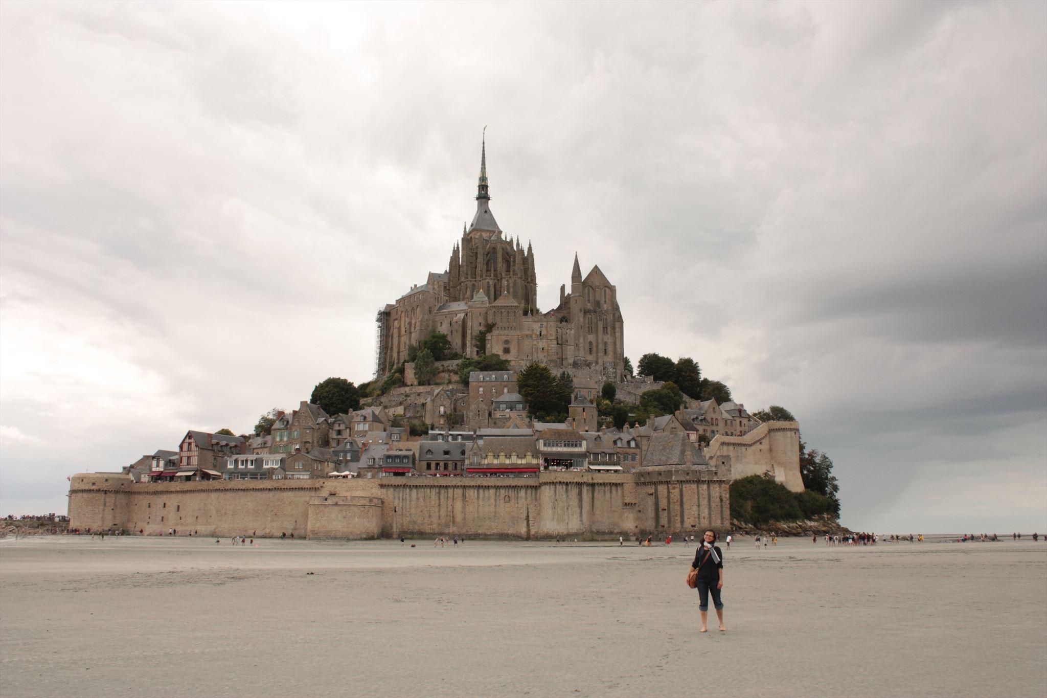 Low tide at Le Mont Saint Michel