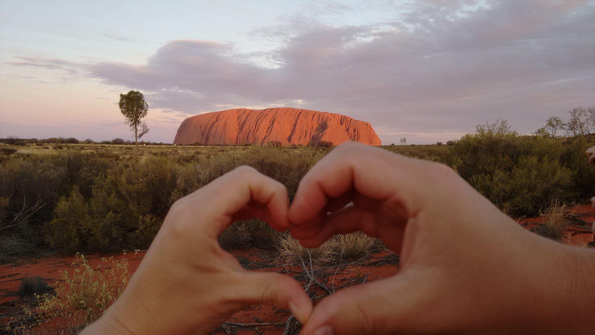 <3 Uluru