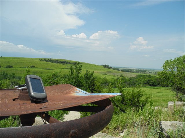 Enjoy the view of the Flint Hills.