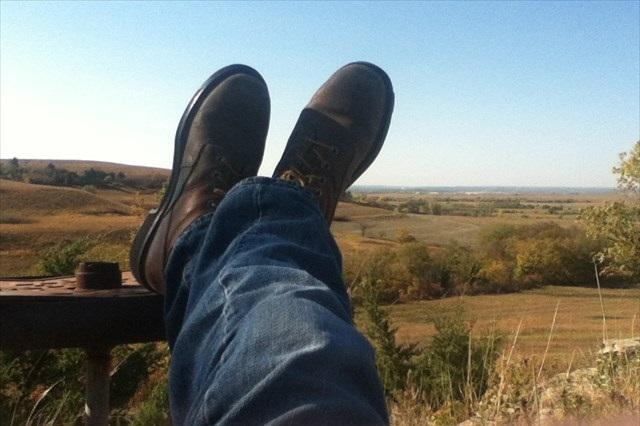 Kick back and enjoy the scenery.