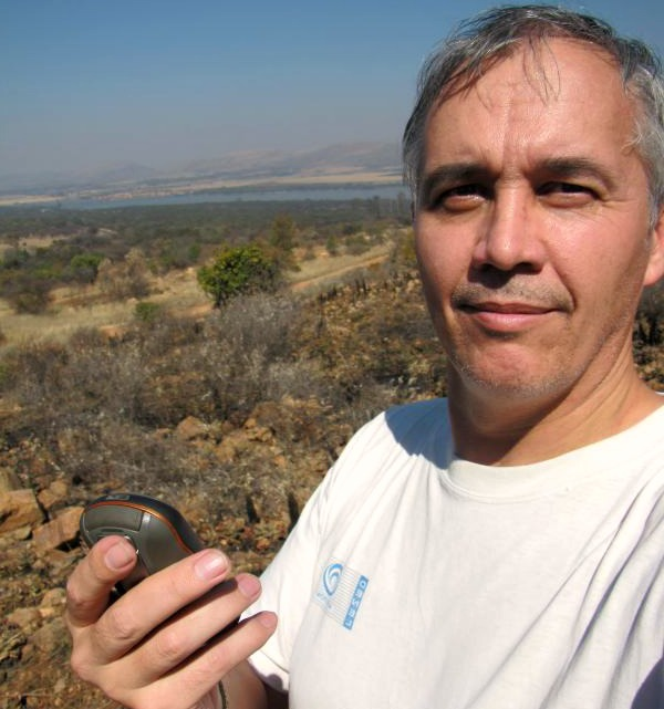 Danie Viljoen, April 2016 Geocacher of the Month
