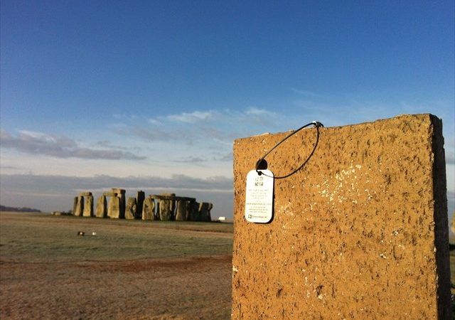 Trackable at Stonehenge