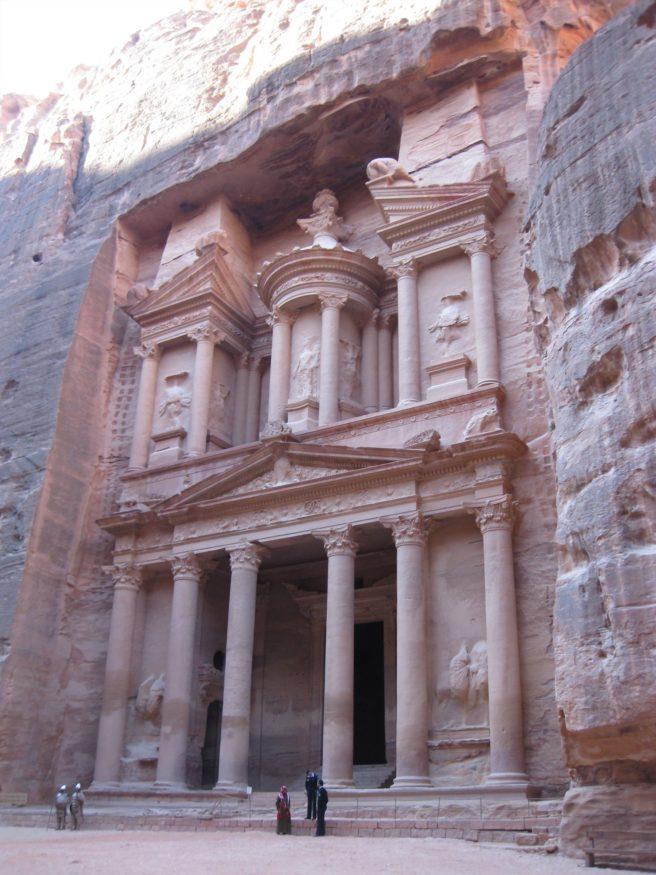 Entrance to Al Khazneh (the Treasury)