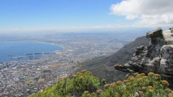 Another stunning view from the top of Table Mountain