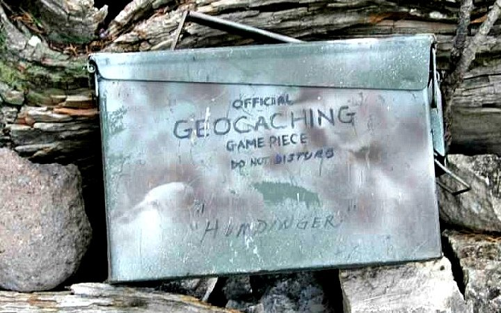 Geocaching Ammo Can