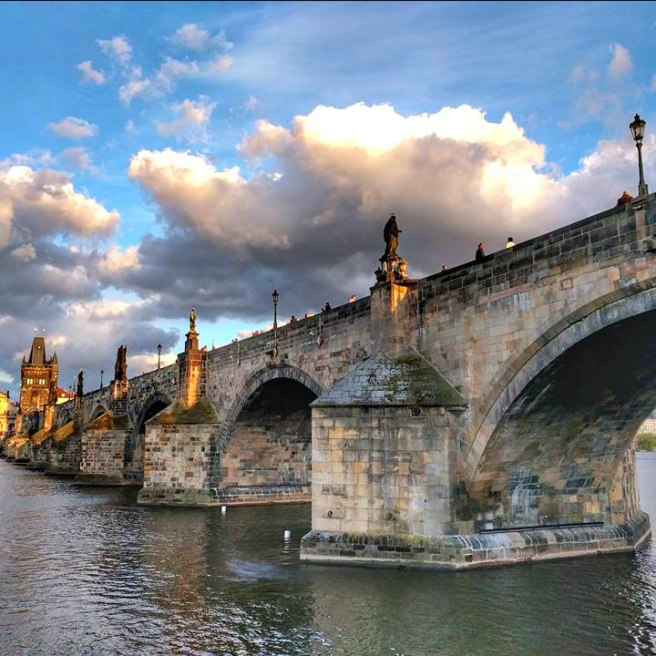 Charles Bridge from the northwest