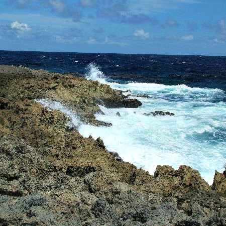 Rugged 'n rocky coastline
