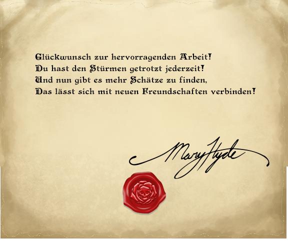 Endlich! Der verlorene Schatz von Mary Hyde wurde gefunden!