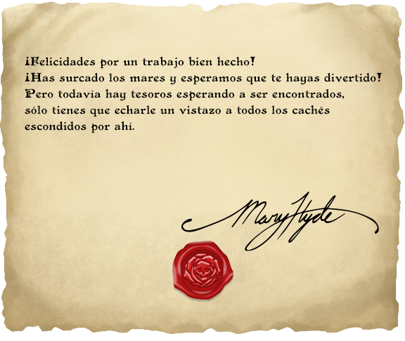¡Vaya! ¡El tesoro perdido de Mary Hyde ha sido encontrado!