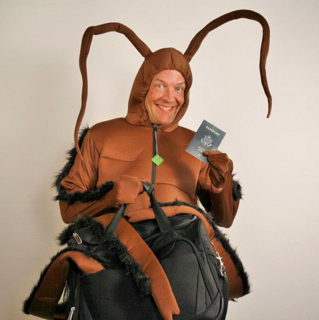 Travel Bug costume