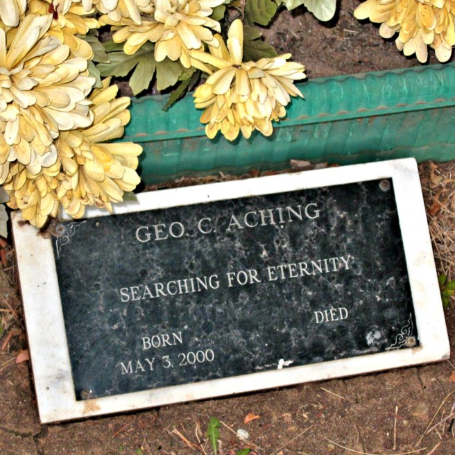 Geo. C. Aching, Rest in Peace