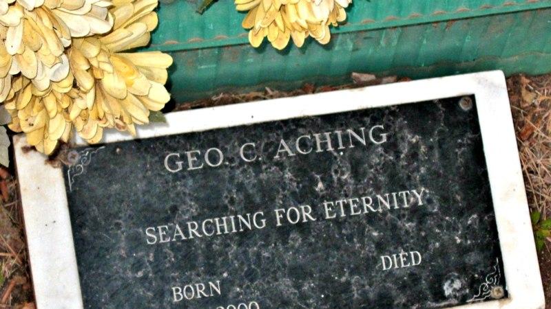 Geo. C. Aching, Rest in Peace