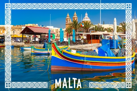 Geocaching country souvenir: Malta