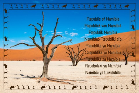 Namibia Geocaching country souvenir