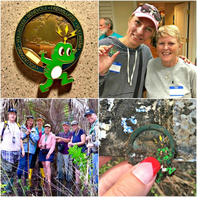 3 countries + 2 geocachers + 1 geocoin = an incredible twist of fate