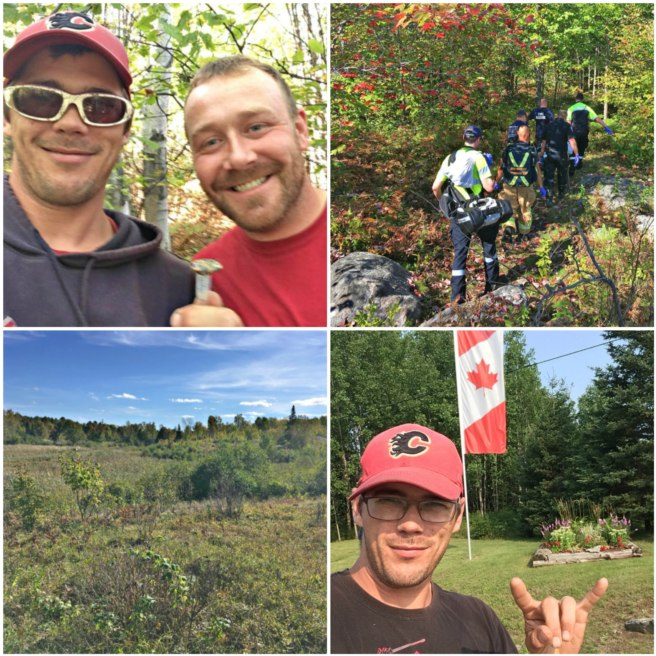 Canadian geocachers rescue stranded camper in remote woods