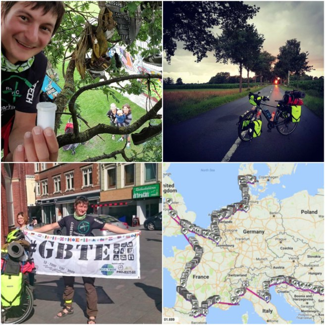 Are you crazy?!? No, I'm Radu! Geo-cycling through 16 countries in 5 months