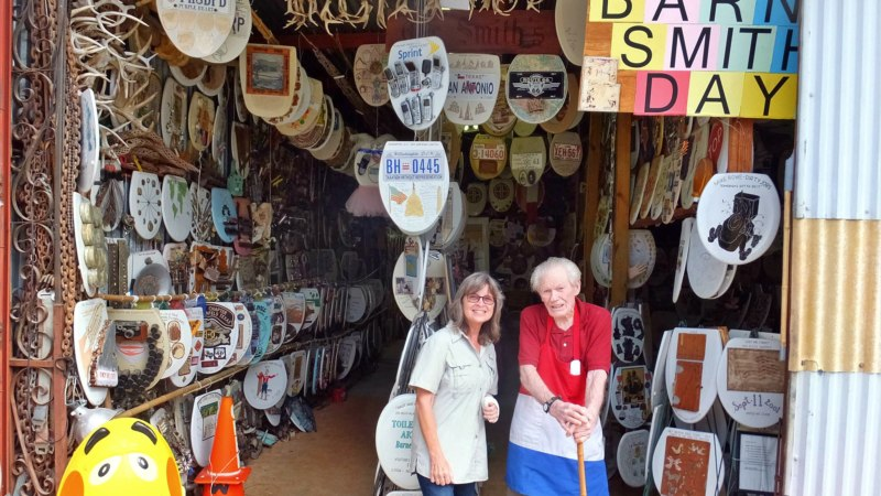Barney Smith's Toilet Seat Museum — Geocache of the Week