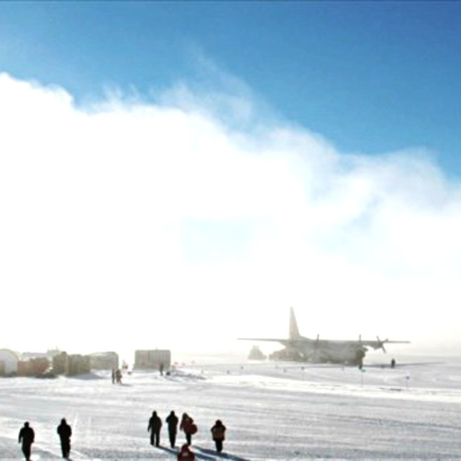 "Flying from Patriot Hills to the South Pole and back is a ""simple"" day trip."