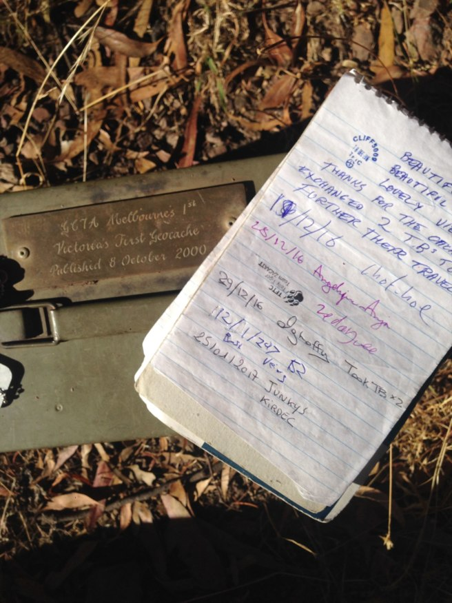 Melbourne's 1st — Geocache of the Week