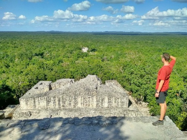 The Great Pyramid of Calakmul GC7BA1M
