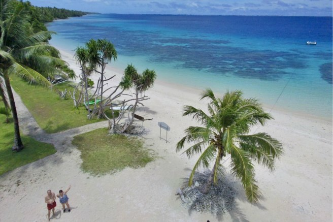 Eneko Beach CITO — GC7K3EJ, Marshall Islands