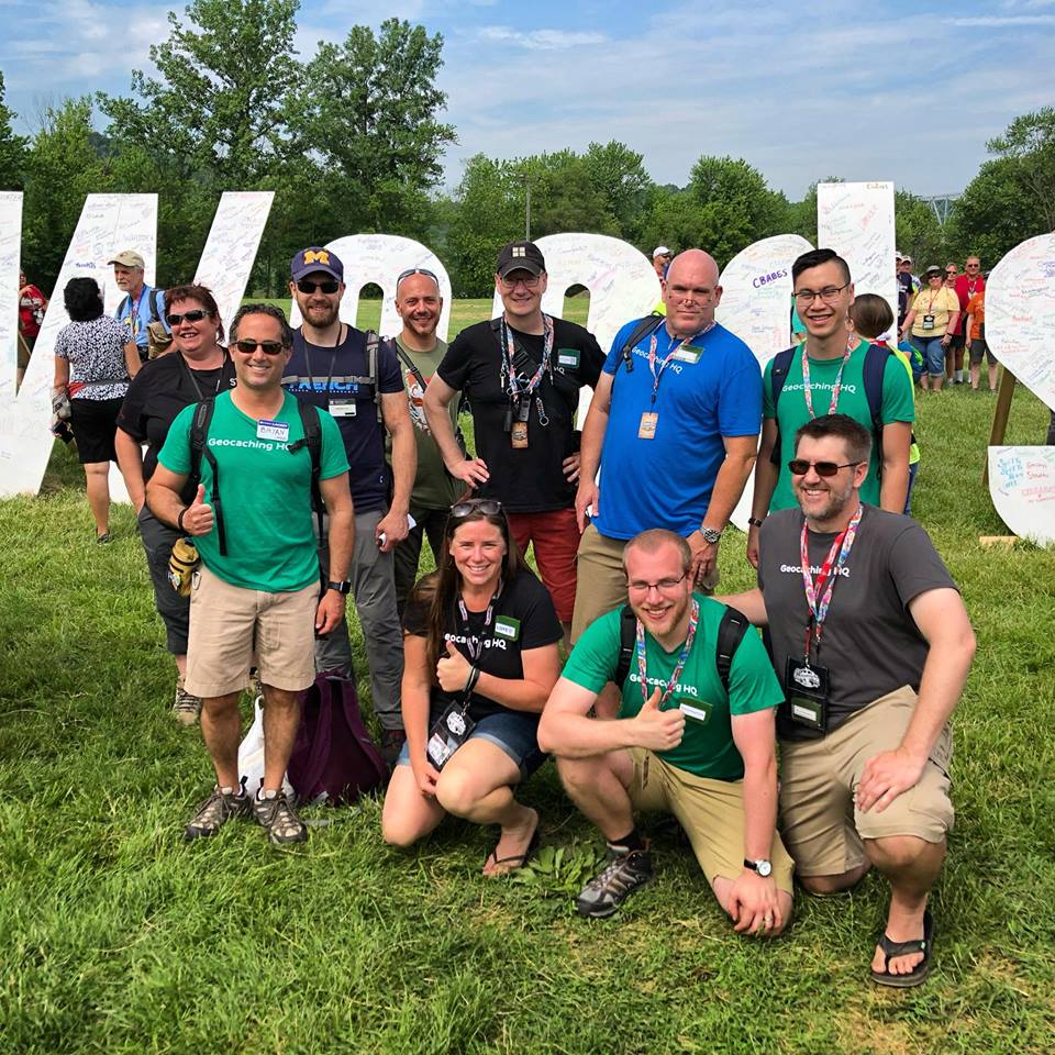 Geocachers make history at Geowoodstock 2018