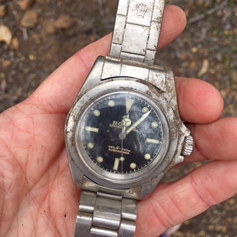 A Rolex watch was found!