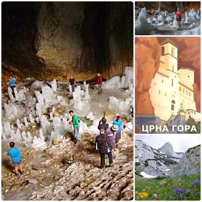 New country souvenir, Montenegro, with Geocache of the Week: Ledena pecina / Ice cave