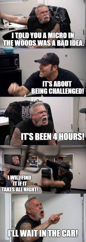 #Relatable geocaching memes